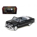 1951 Ford Custom Convertible Black 1/32 Diecast Car Model by Arko Products