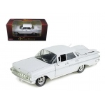 1959 Chevrolet Impala Sedan 4 Doors White 1/32 Diecast Car Model by Arko Products