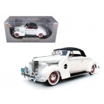 1938 Buick Century White 1/18 Diecast Car Model by Signature Models