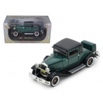 1930 Hudson Great Eight Green 1/32 Diecast Car Model by Signature Models