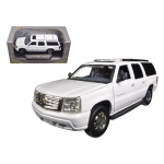 2004 Cadillac Escalade ESV Pearl White 1/32 Diecast Car Model by Signature Models