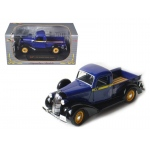 1936 Dodge Pickup Truck Blue 1/32 Diecast Car Model by Signature Models