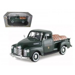 "1950 Chevrolet Pickup Truck Green With Barrels ""Willamette Valley Winery 1/32 Diecast Model Car by Signature Models"