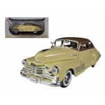 1948 Chevrolet Fleetline Aerosedan Beige 1/32 Diecast Car Model by Signature Models