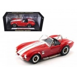1965 Shelby Cobra 427 S/C Red 1/18 Diecast Model Car by Shelby Collectibles