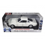 1966 Ford Shelby Mustang GT 350 Fastback White 1/18 Diecast Model Car by Shelby Collectibles