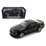 2008 Ford Shelby Mustang GT500KR Black 1/18 Diecast Model Car by Shelby Collectibles