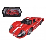 1967 Ford GT MK IV Red 1/18 Diecast Car Model by Shelby Collectibles