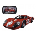 1967 Ford GT MK IV #3 Brown LeMans 24 Hours M.Andretti / L.Bianchi 1/18 Diecast Model Car by Shelby Collectibles