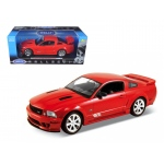 2007 Ford Mustang Shelby Saleen S281E Red 1/18 Diecast Model Car by Welly