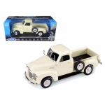 1953 Chevrolet 3100 Pickup Truck Cream 1/18 Diecast Car Model by Welly