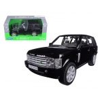2003 Land Rover Range Rover Black 1/24 Diecast Model Car by Welly