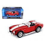1965 Shelby Cobra 427 S/C Red 1/24 Diecast Car Model by Welly