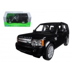 Land Rover Discovery 4 Black 1/24 Diecast Model Car by Welly