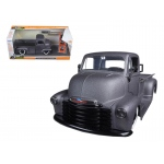"1952 Chevrolet Coe Pickup Truck Matt Grey ""Just Trucks"" with Extra Wheels 1/24 Diecast Model by Jada"