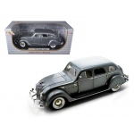 1936 Chrysler Airflow Silver 1/18 Diecast Model Car by Signature Models