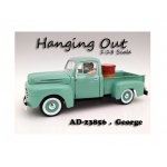 """Hanging Out"" George Figure For 1:18 Scale Models by American Diorama"
