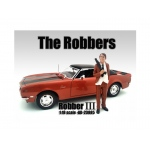 """The Robbers"" Robber III Figure For 1:18 Scale Models by American Diorama"