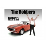 """The Robbers"" Robber IV Figure For 1:18 Scale Models by American Diorama"