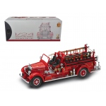 1935 Mack Type 75BX Fire Truck Red with Accessories 1/24 Diecast Model Car by Road Signature