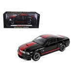 "2008 Ford Shelby Mustang GT Coupe Black ""Barrett Jackson"" Edition 1/18 Diecast Car Model by Shelby Collectibles"