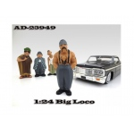 "Big Loco ""Homies"" Figure For 1:24 Scale Diecast Model Cars by American Diorama"