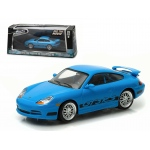 "Brian's 2001 Porsche 911 Carrera Gt3 RS Blue ""The Fast and The Furious Fast Five"" Movie (2011) 1/43 Diecast Model Car by Greenlight"