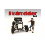 """Hotrodders"" Derek Figure For 1:18 Scale Models by American Diorama"