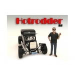 """Hotrodders"" Bill Figure For 1:18 Scale Models by American Diorama"