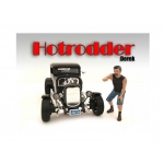 """Hotrodders"" Derek Figure For 1:24 Scale Models by American Diorama"