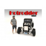 """Hotrodders"" Robert Figure For 1:24 Scale Models by American Diorama"