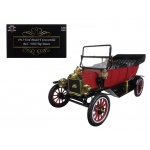 1915 Ford Model T Roadster Converible Red 1/18 Diecast Model Car by Motorcity Classics