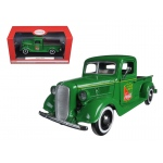 1937 Ford Pickup Truck Green Coca Cola 1/24 Diecast Model by Motorcity Classics