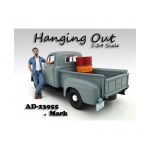 """Hanging Out"" Mark Figure For 1:24 Scale Models by American Diorama"