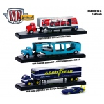 "Auto Haulers Release 19 ""A"", 3 Trucks Set 1/64 Diecast Models by M2 Machines"