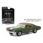 "Bobby's 1971 Chevrolet Chevelle SS Supernatural ""2005 Current TV Series"" 1/64 Diecast Model Car by Greenlight"