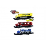 "Auto Haulers Release 19 ""B"", 3 Trucks Set 1/64 Diecast Models by M2 Machines"