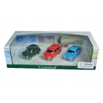 Mini Cooper 3pc Gift Set 1/43 Diecast Model Cars by Cararama