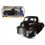 "1952 Chevrolet COE Pickup Truck Brown ""Just Trucks"" with Extra Wheels 1/24 Diecast Model Car by Jada"