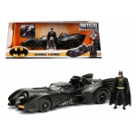 1989 Batmobile with Diecast Batman Figure 1/24 Diecast Model Car by Jada