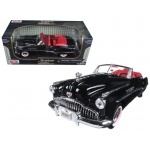 1949 Buick Roadmaster Black 1/18 Diecast Model Car by Motormax