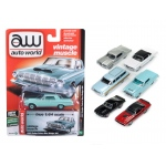 Autoworld Premium 2017 Release 1C Set Of 6 Cars 1/64 Diecast Model Cars by Autoworld