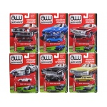 Autoworld Premium 2017 Release 2B Set Of 6 Cars 1/64 Diecast Model Cars by Autoworld