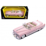 1949 Cadillac Coupe De Ville Pink 1/43 Diecast Model Car by Road Signature