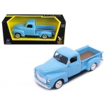 1950 GMC Pickup Truck Light Blue 1/43 Diecast Model Car by Road Signature