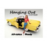 """Hanging Out"" Wendy Figure For 1:18 Scale Models by American Diorama"