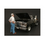 70's Style Figure V For 1:18 Scale Models by American Diorama