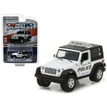 2009 Jeep Wrangler Burlington, Wisconsin Police Hot Pursuit Series 23 1/64 Diecast Model Car by Greenlight