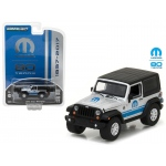 2015 Jeep Wrangler MOPAR 80 Years Anniversary Collection Series 5 1/64 Diecast Model Car by Greenlight