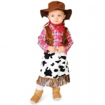 Cowgirl Princess Infant Costume - 6-12M